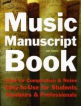 Music Manuscript Book - Jackson, Jake - ISBN: 9781847866912