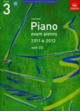 Selected Piano Exam Pieces 2011 & 2012, Grade 3, With Cd - ISBN: 9781848492165