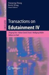 Transactions on Edutainment IV - ISBN: 9783642144837