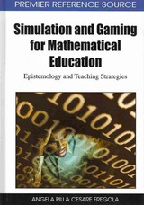 Simulation And Gaming For Mathematical Education - Piu, Angela/ Fregola, Cesare - ISBN: 9781605669304