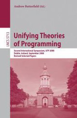 Unifying Theories Of Programming - Butterfield, Andrew (EDT) - ISBN: 9783642145209