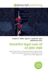 Doubtful legal case of 47,800 VND - ISBN: 9786131688102