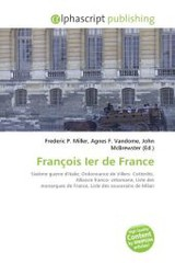 François Ier de France - ISBN: 9786130857424