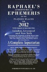 Raphael's Astrological Ephemeris 2012 - Foulsham (COR) - ISBN: 9780572036287
