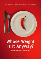 Whose weight is it anyway? - ISBN: 9789033483745