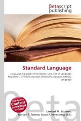 Standard Language - ISBN: 9786130361037