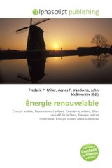 Ãnergie renouvelable - ISBN: 9786130778972