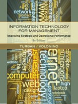 Information Technology For Management: Improving Performance In The Digital Economy - Turban, Efraim; Volonino, Linda - ISBN: 9780470916803