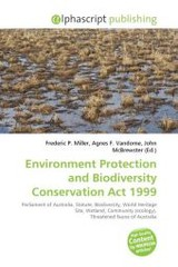 Environment Protection and Biodiversity Conservation Act 1999 - ISBN: 9786130857707