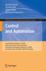 Control And Automation - ISBN: 9783642107429