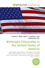 Birthright Citizenship in the United States of America - ISBN: 9786130609870