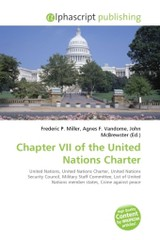 Chapter VII of the United Nations Charter - ISBN: 9786130752019