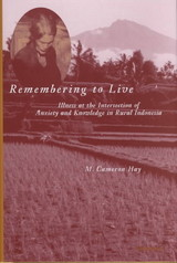 Remembering To Live - Hay, M.cameron - ISBN: 9780472097852