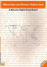 Minorities And Human Rights Law - Thornberry, Patrick - ISBN: 9780946690886