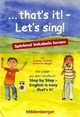 that's it! - Let's sing!, 1 Audio-CD - Geiger, Katharina; McCafferty, Susanne - ISBN: 9783619192489