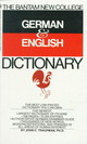 Bantam German/english Dictionary - Traupman, John - ISBN: 9780553280883