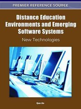 Distance Education Environments And Emerging Software Systems - Jin, Qun (EDT) - ISBN: 9781609605391
