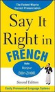Say It Right In French - Epls - ISBN: 9780071767712