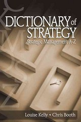 Dictionary Of Strategy - Booth, Chris; Kelly, Louise - ISBN: 9780761930723