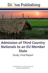 Admission of Third Country Nationals to an EU Member State - ISBN: 9783843399043