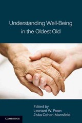 Understanding Well-being In The Oldest Old - ISBN: 9780521113915