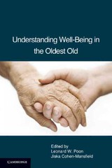 Understanding Well-being In The Oldest Old - ISBN: 9780521132008