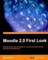 Moodle 2.0 First Look - Cooch, Mary - ISBN: 9781849511940