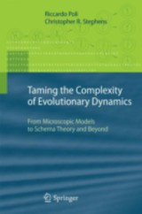 Taming The Complexity Of Evolutionary Dynamics - Poli, Riccardo; Stephens, Christopher - ISBN: 9783642173608