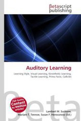 Auditory Learning - ISBN: 9786131404030