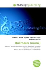 Bullroarer (music) - ISBN: 9786131607356