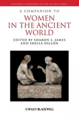 Companion To Women In The Ancient World - ISBN: 9781405192842