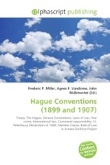 Hague Conventions (1899 and 1907) - ISBN: 9786130751708