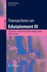 Transactions On Edutainment Iii - Pan, Zhigeng (EDT)/ Cheok, Adrian David (EDT)/ Muller, Wolfgang (EDT)/ Chang, Maiga (EDT) - ISBN: 9783642112447