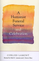 Humanist Funeral Service And Celebration - Lamont, Corliss - ISBN: 9781616144098