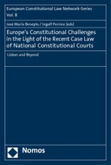 Europe's Constitutional Challenges In The Light Of The Recent Case Law Of National Constitutional Courts - Beneyto, Jose Maria (EDT)/ Pernice, Ingolf (EDT) - ISBN: 9783832967246