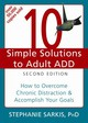 10 Simple Solutions To Adult Add, Second Edition - Sarkis, Stephanie - ISBN: 9781608821846