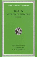 Method Of Medicine - Galen - ISBN: 9780674996793