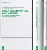 Ablution, Initiation, And Baptism - ISBN: 9783110247510