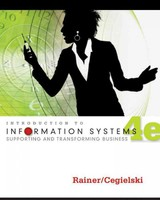 Introduction To Information Systems - Rainer, R. Kelly; Cegielski, Casey G. - ISBN: 9781118063347