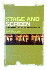 Stage And Screen - Cardullo, Bert (EDT) - ISBN: 9781441168696