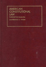 American Constitutional Law - Tribe, Laurence H. - ISBN: 9781566627146