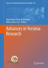 Advances In Yersinia Research - De Almeida, Alzira Maria Paiva (EDT)/ Leal, Nilma Cintra (EDT) - ISBN: 9781461435600