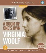 A Room Of One's Own - Woolf, Virginia/ Smith, Ali (INT)/ Stevenson, Juliet (NRT) - ISBN: 9781906147877