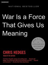 War Is A Force That Gives Us Meaning - Hedges, Chris - ISBN: 9781400134588