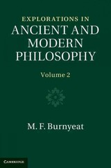 Explorations In Ancient And Modern Philosophy - Burnyeat, M. F. (university Of Cambridge) - ISBN: 9780521750738
