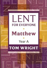 Lent For Everyone - Wright, Tom - ISBN: 9780281062218
