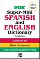 Vox Super-mini Spanish And English Dictionary - Vox - ISBN: 9780071788663