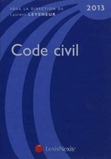Code civil ; 2013 - Laurent Leveneur - ISBN: 9782711018000