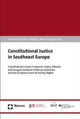 Constitutional Justice in Southeast Europe - ISBN: 9783832977016