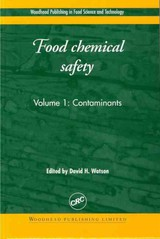 Food Chemical Safety - Watson, David (EDT) - ISBN: 9781855734623